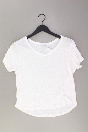 Zara T-shirt w kolorze białej wełny