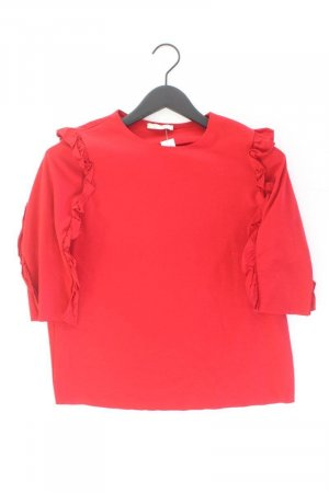 Zara Shirt Größe M 3/4 Ärmel rot
