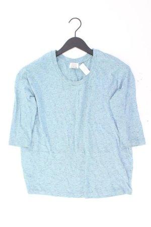 Zara Shirt Größe S blau aus Baumwolle