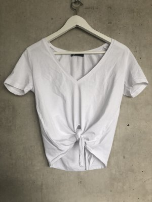 Zara shirt kurz mit Knoten