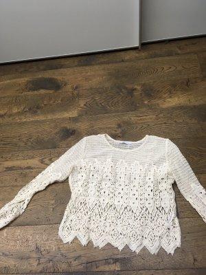 Zara Gehaakt shirt room