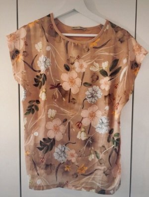 Zara Shirt mit Blumenprint