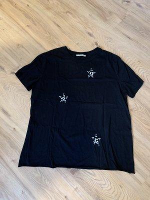 Zara Shirt mit Perlen