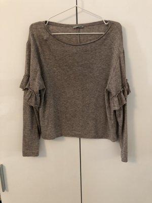 Zara Gehaakt shirt veelkleurig