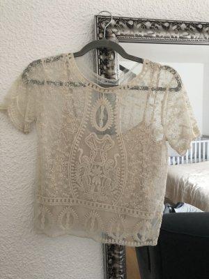 Zara Shirt mit Top