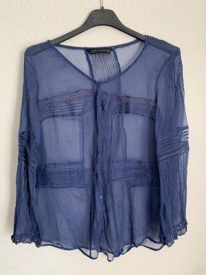 Zara Shirt Seide