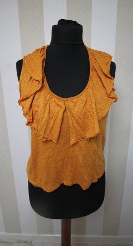 Zara Camicia a tunica arancione scuro