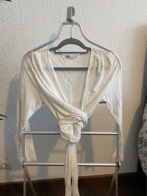 Zara Cache-coeur blanc cassé-blanc