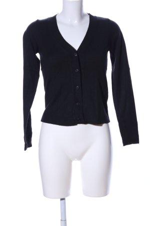 Zara Shirtjacke schwarz Casual-Look
