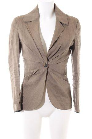 Zara Shirtjacke braun meliert Business-Look