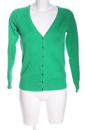 Zara Shirtjacke grün Casual-Look