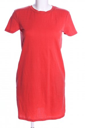 Zara Shirt Dress red casual look