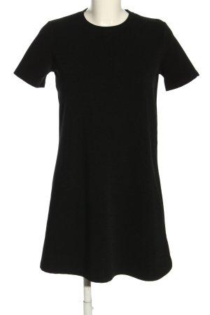 Zara Shirtkleid schwarz Elegant