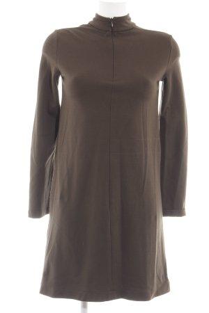 Zara Shirtkleid bronzefarben Casual-Look