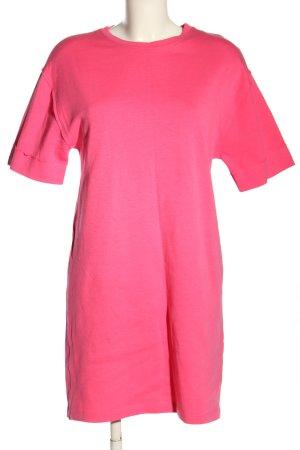 Zara Shirtkleid pink Casual-Look