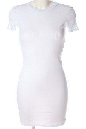 Zara Shirtkleid weiß Casual-Look
