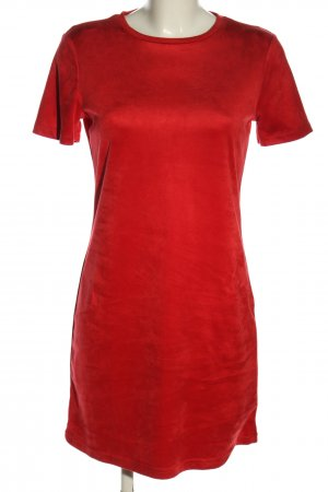 Zara Shirtkleid rot Casual-Look
