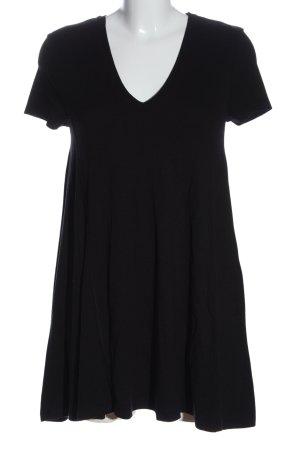 Zara Shirtkleid schwarz Casual-Look