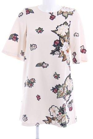 Zara Vestido estilo camisa estampado floral look casual