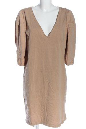 Zara Shirtkleid wollweiß Casual-Look