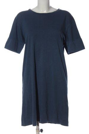 Zara Shirtkleid blau Casual-Look