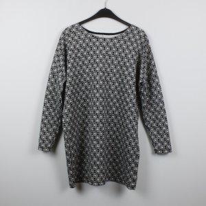 Zara Shirtkleid Gr. S schwarz/weiß gemustert oversized