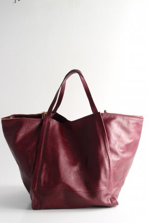 Zara Shopper rood casual uitstraling