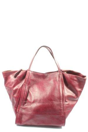 Zara Shopper rot Casual-Look