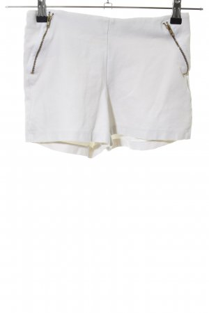 Zara Shorts weiß Casual-Look