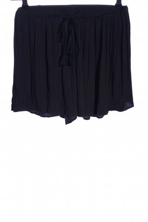 Zara Shorts schwarz Casual-Look