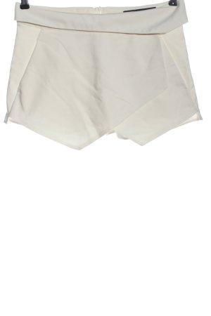 Zara Shorts wollweiß Casual-Look