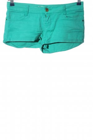 Zara Shorts türkis Casual-Look