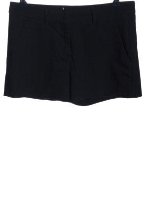 Zara Shorts schwarz Casual-Look