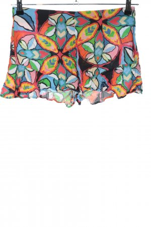 Zara Shorts abstraktes Muster Casual-Look