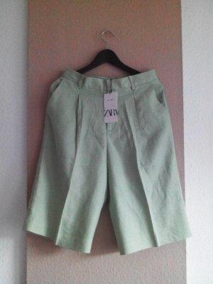 Zara Shorts aus 100% Leinen, Größe M, neu