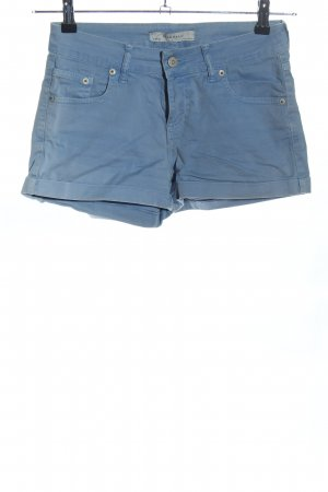 Zara Shorts blau Casual-Look