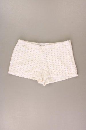 Zara Shorts creme Größe M