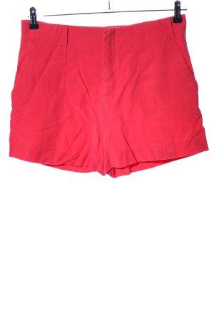 Zara Shorts rot Casual-Look