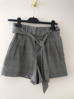 Zara High waist short grijs