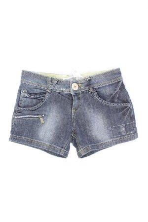 Zara Shorts Größe 38 blau aus Baumwolle