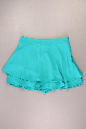 Zara Shorts Größe M türkis aus Polyester
