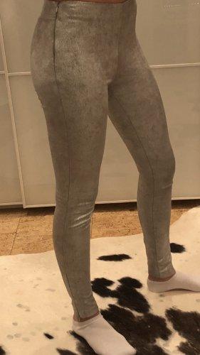Zara Silberne Hose