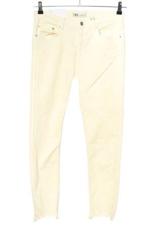 Zara Skinny Jeans nude Casual-Look