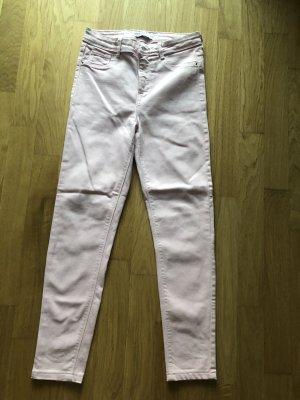 ZARA Skinny Jeans 36 rosa