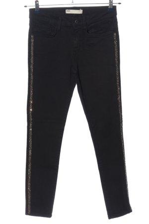 Zara Skinny Jeans black casual look