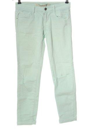 Zara Skinny jeans turkoois casual uitstraling