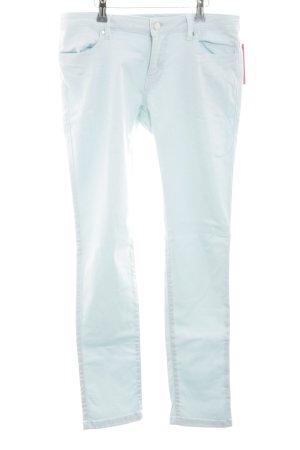 Zara Skinny Jeans türkis Casual-Look