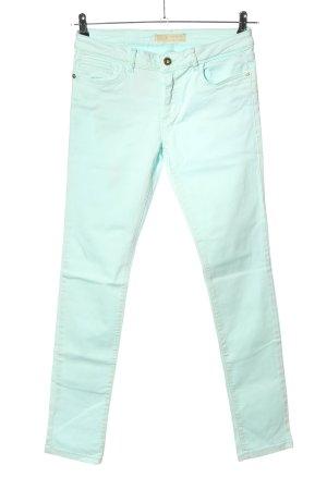 Zara Jeans skinny bianco stile casual