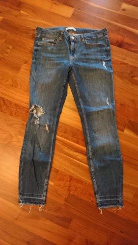 ZARA Skinny Jeans - destroyed Look