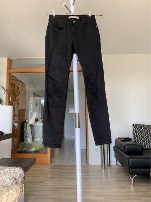 ZARA Skinny Jeans, Gr. 34, schwarz!